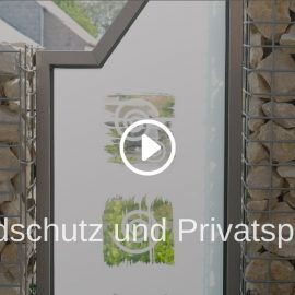 Windschutz und Privatsphäre im Garten