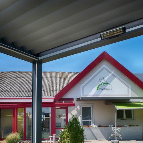Überdachungen, Lamellendächer, Vordächer